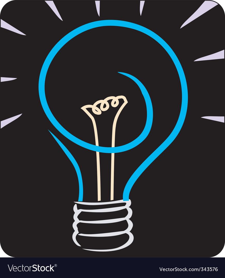 Bulbs vector image