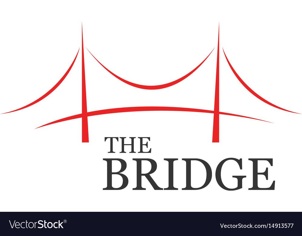 The bridge business vector image