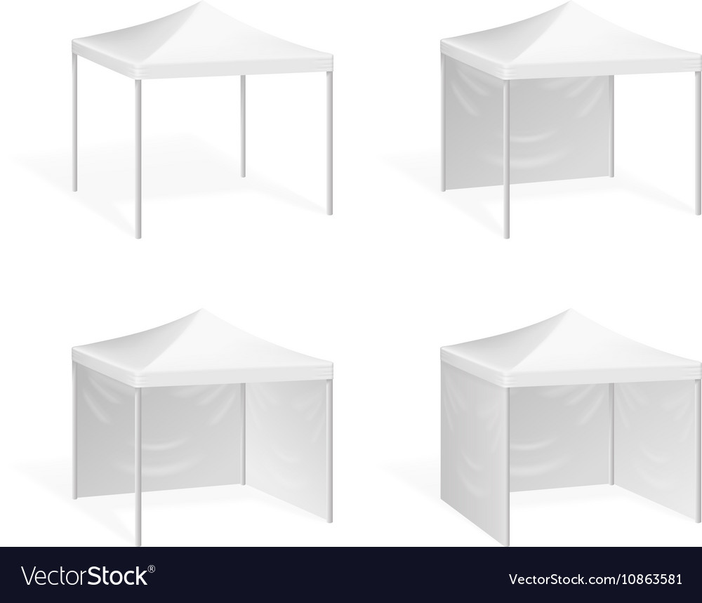 Canopy Pop up tent for outdoor event vector image  sc 1 st  VectorStock & Canopy Pop up tent for outdoor event Royalty Free Vector