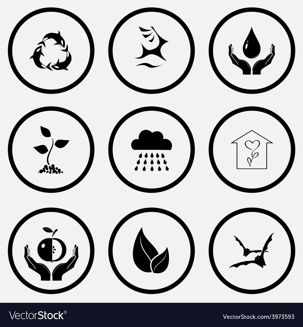 Symbol for protection sigils for protection origin not stated killer whale as recycling symbol deer protection vector image biocorpaavc Gallery
