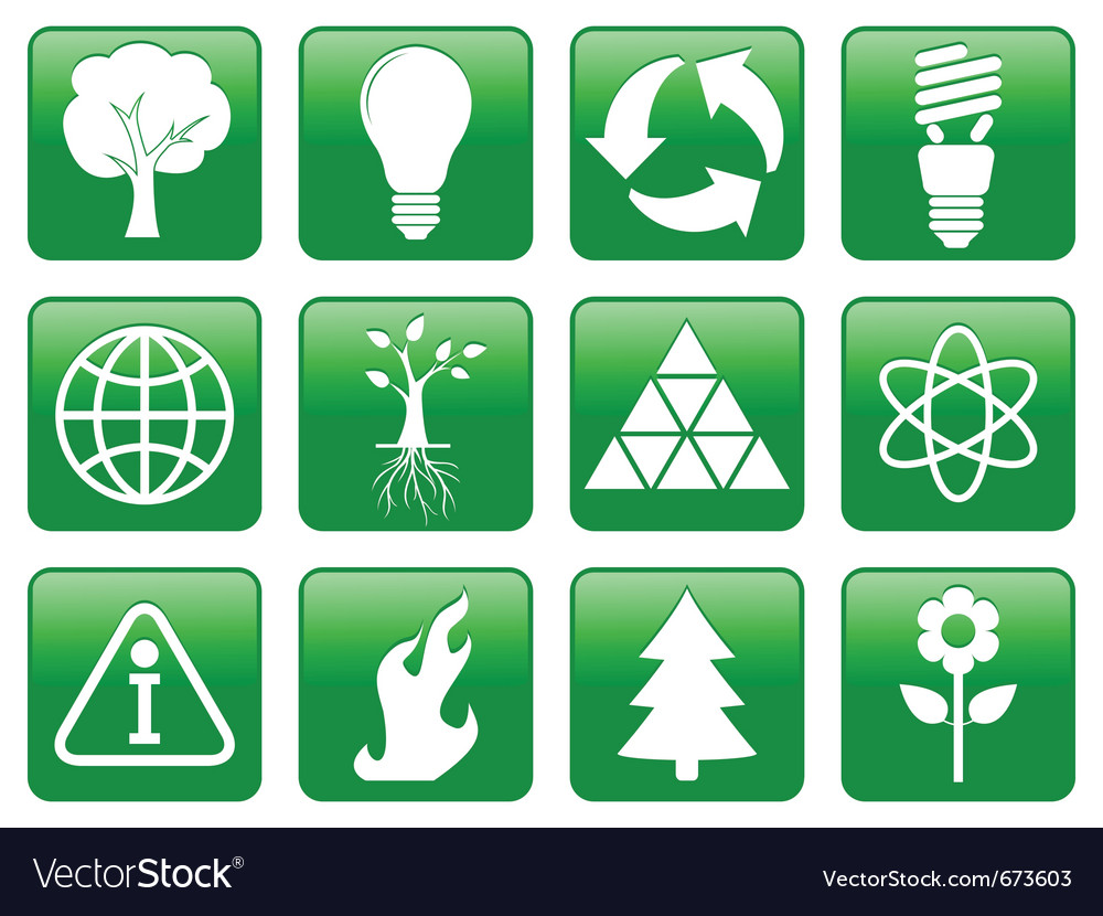 Earth conservation vector image