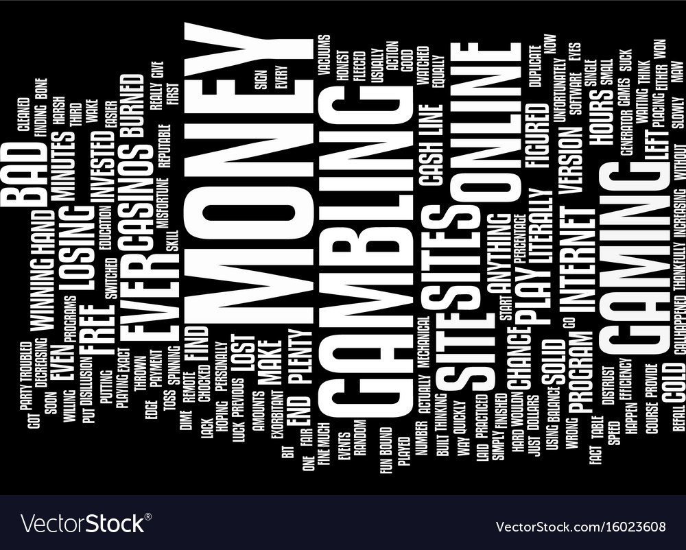 Ever been burned by a bad site text background vector image