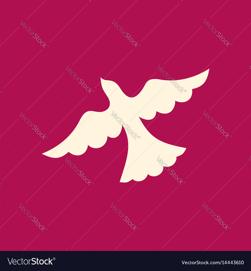 Dove the symbol of the holy spirit royalty free vector image dove the symbol of the holy spirit vector image buycottarizona Choice Image