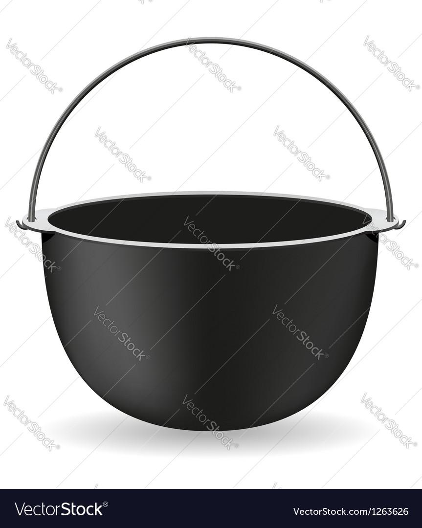 Pot 01 Vector Image