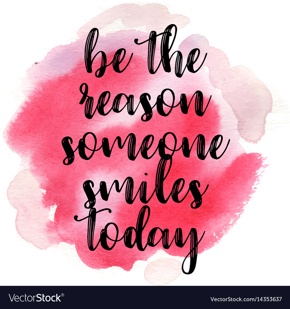Google Finance Stock Quotes: Quote Be The Reason Someone Smiles Today Vector Image