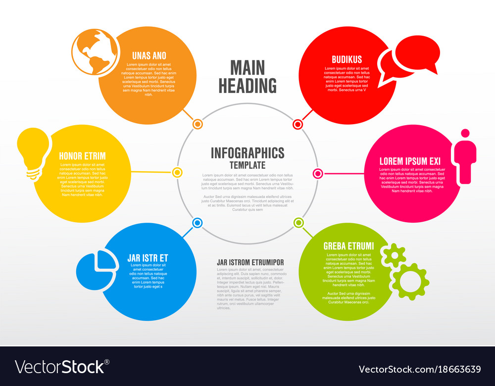 Infographic schema template royalty free vector image infographic schema template vector image ccuart Image collections