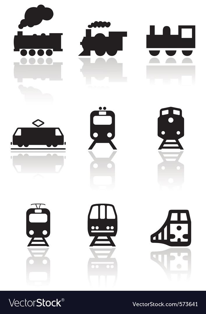 Rain symbol set Vector Image