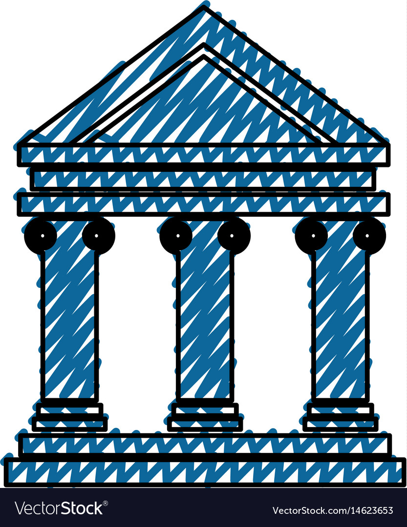 Bank building symbol royalty free vector image bank building symbol vector image biocorpaavc Image collections