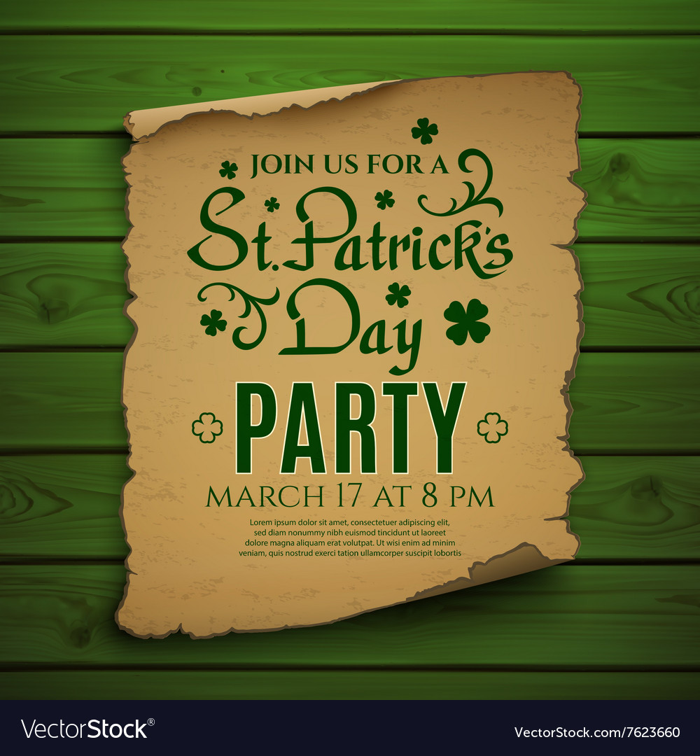 st patrick s day party invitations
