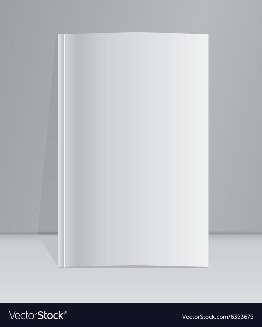 Layout book Template vector image