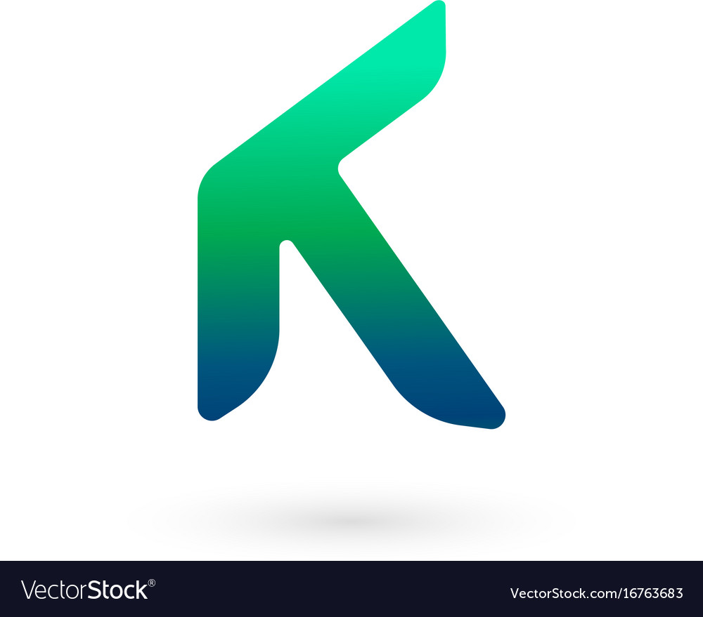 Letter k logo icon design template elements vector image spiritdancerdesigns Choice Image