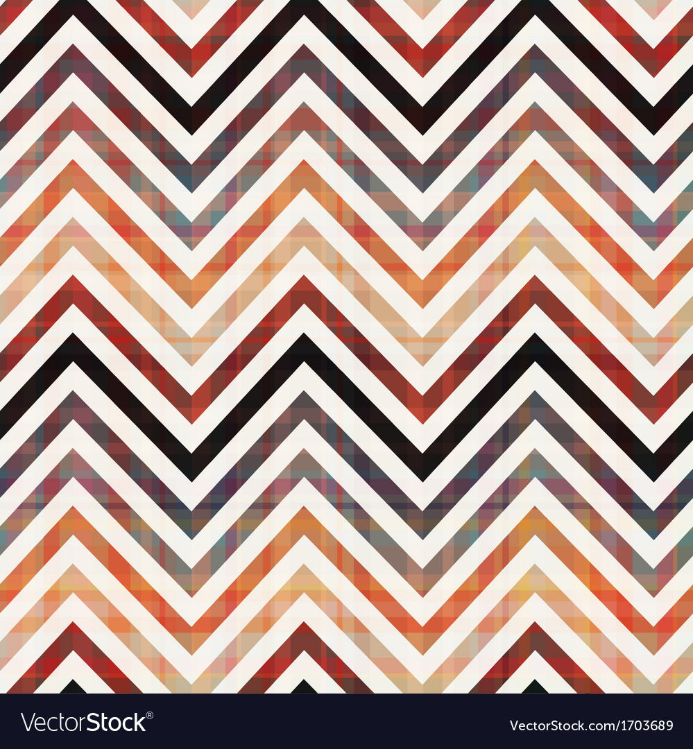 Seamless chevron background texture vector image