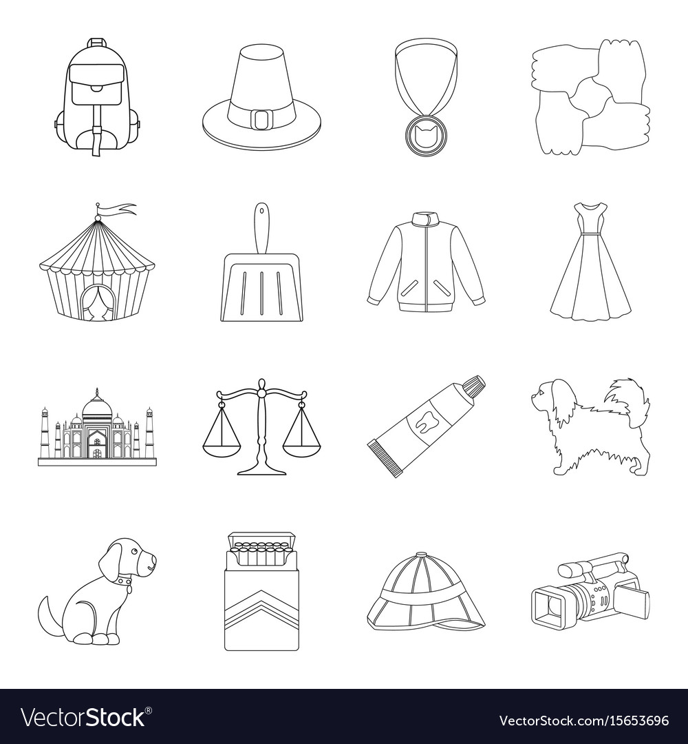 Education nicotine hunting and other web icon in vector image