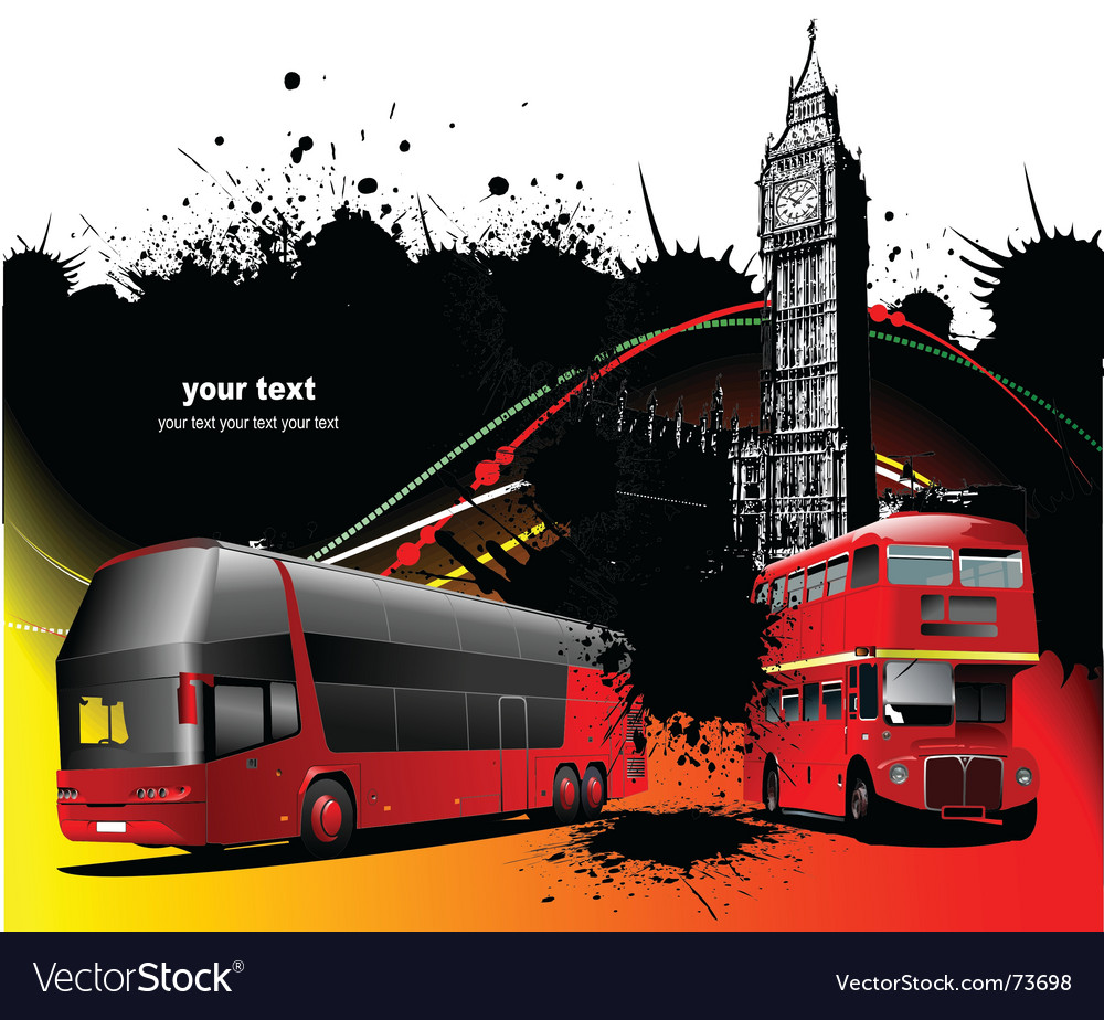 London background vector image