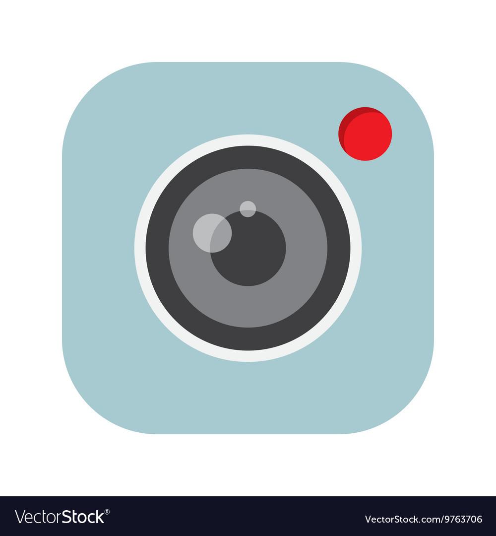 Camera application icon vector image
