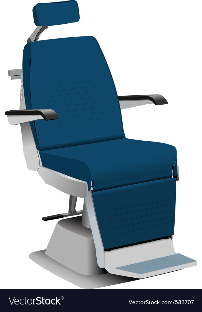Airplane chair vector image