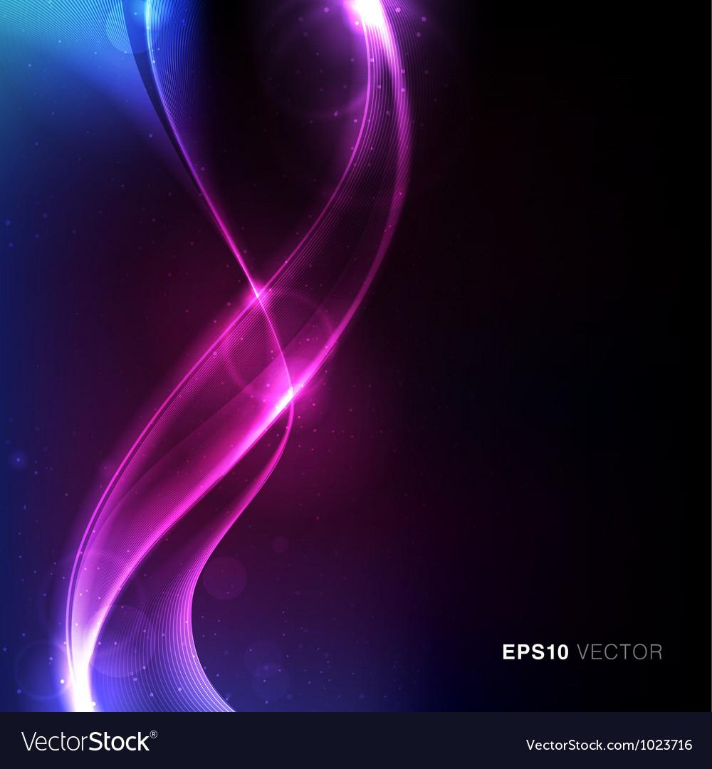 Cosmos background vector image