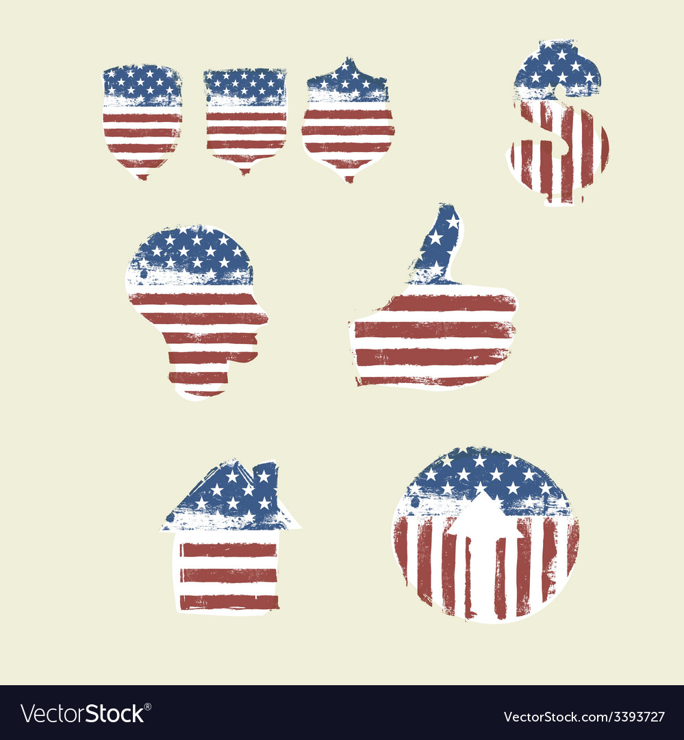 Patriotic symbols composed flag part2 royalty free vector patriotic symbols composed flag part2 vector image buycottarizona Choice Image