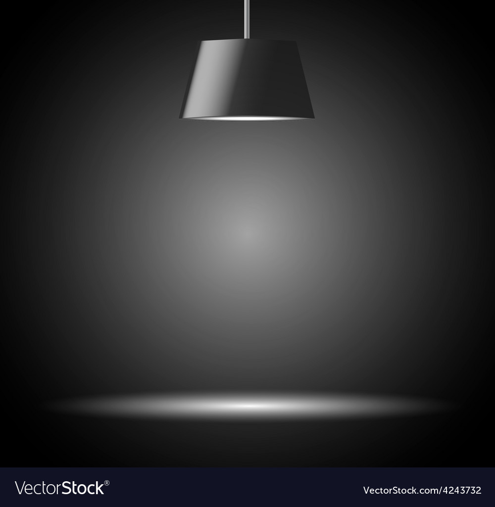 Abstract background with spot light vector image