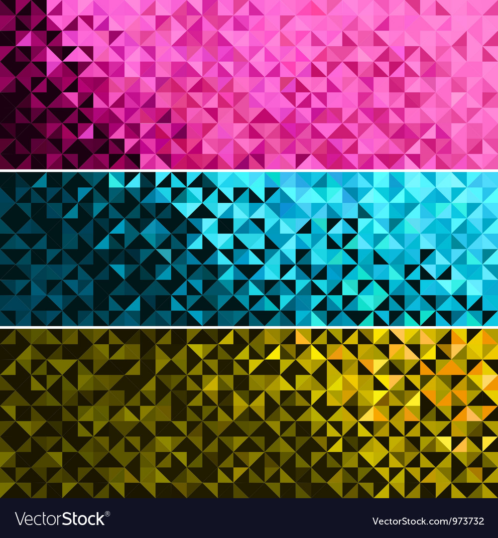 Abstract Light Brilliant Banner vector image