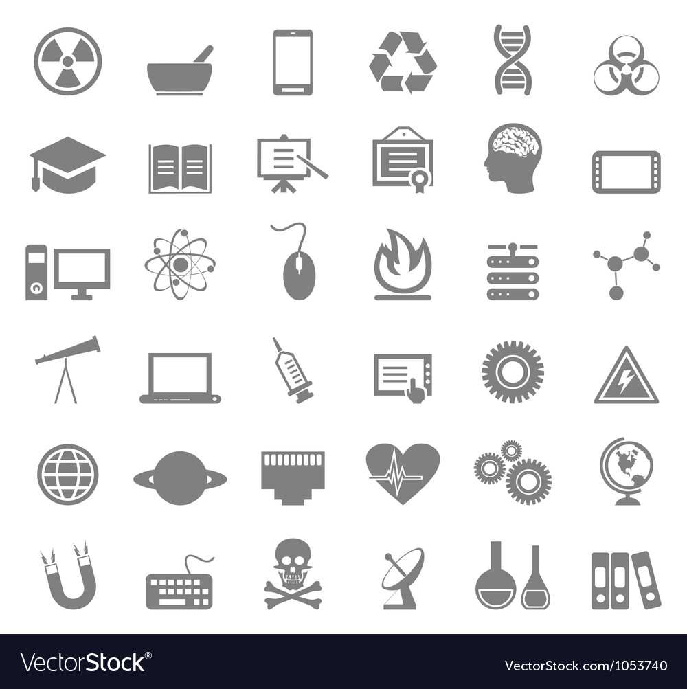 Science icon5 vector image