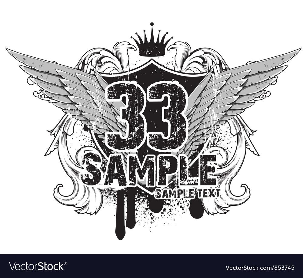 Free t-shirt design - Vintage Emblem T Shirt Design Vector Image