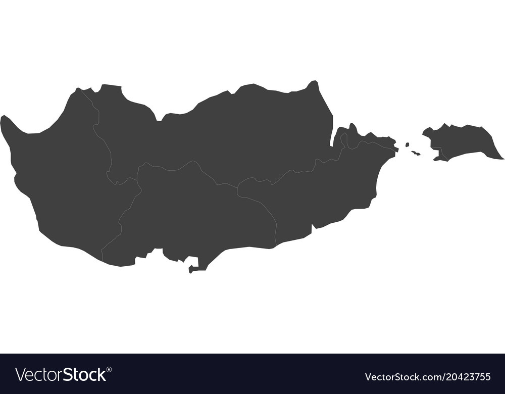 Map of cyprus split into regions royalty free vector image map of cyprus split into regions vector image publicscrutiny Choice Image