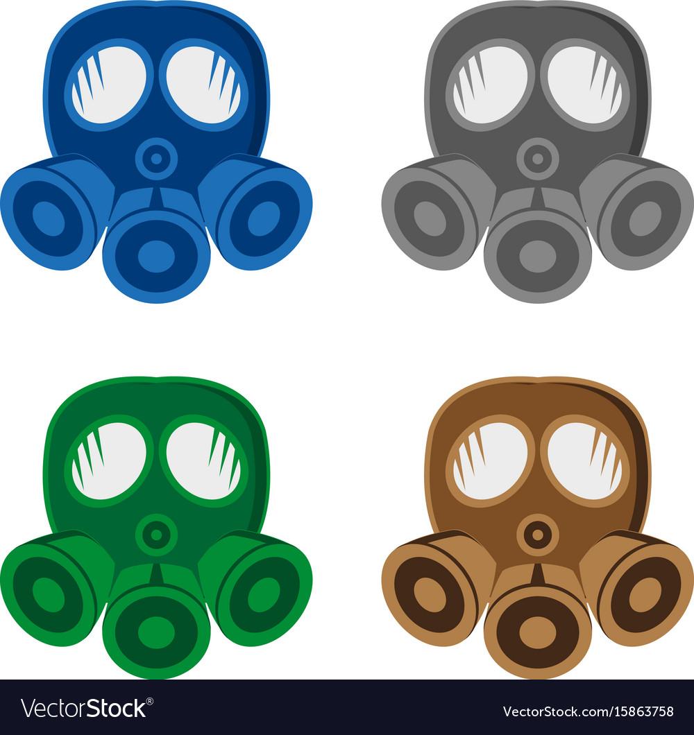 Gasmask vector image