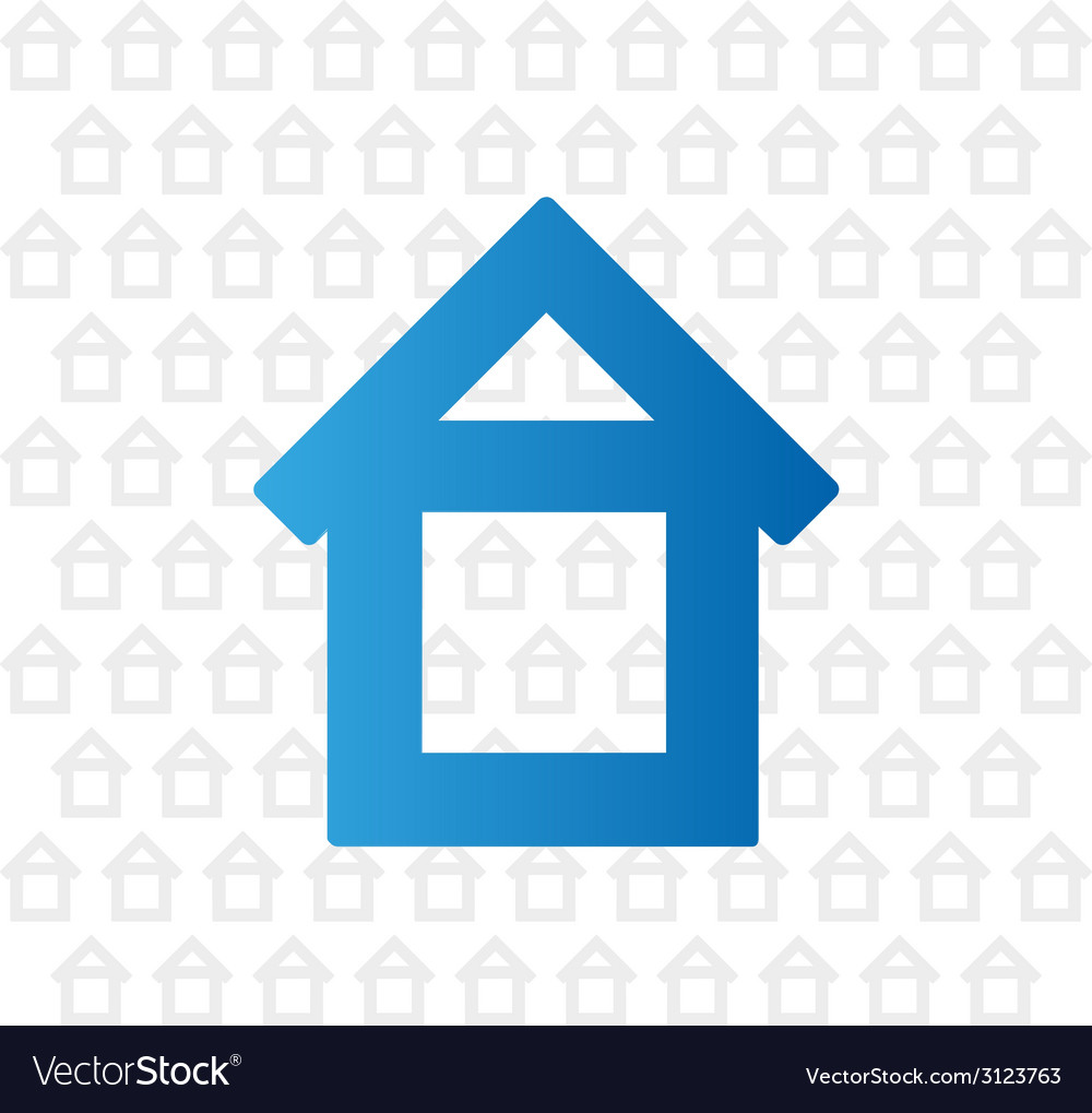 Advertising home background vector image