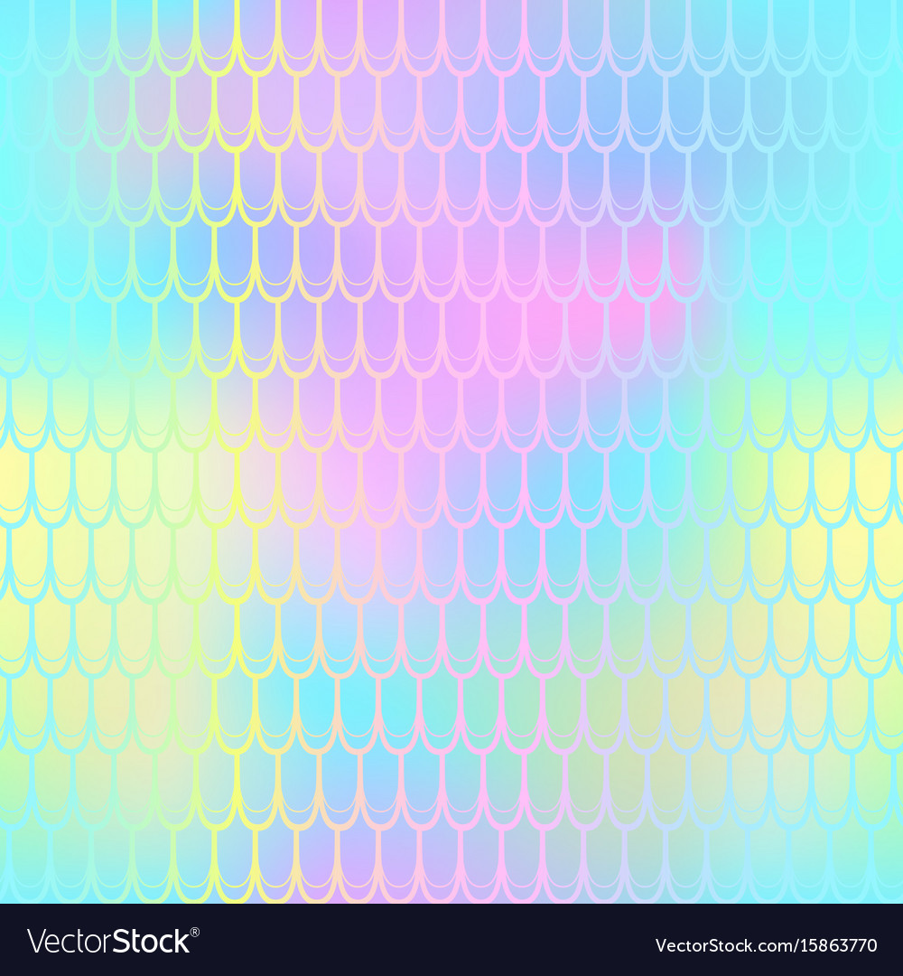 Fantastic fish scale pattern texture vector image