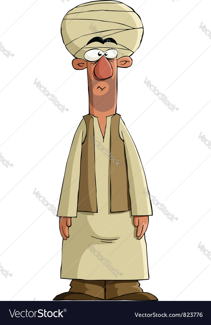 Arab vector image