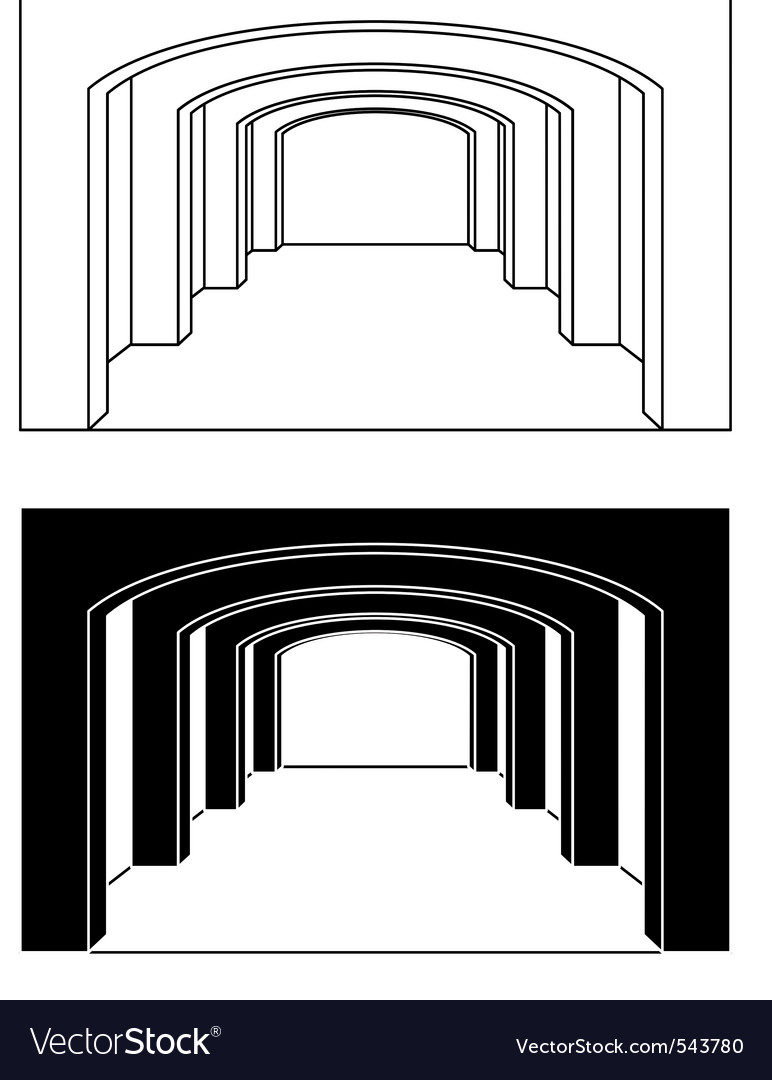 Arches vector image