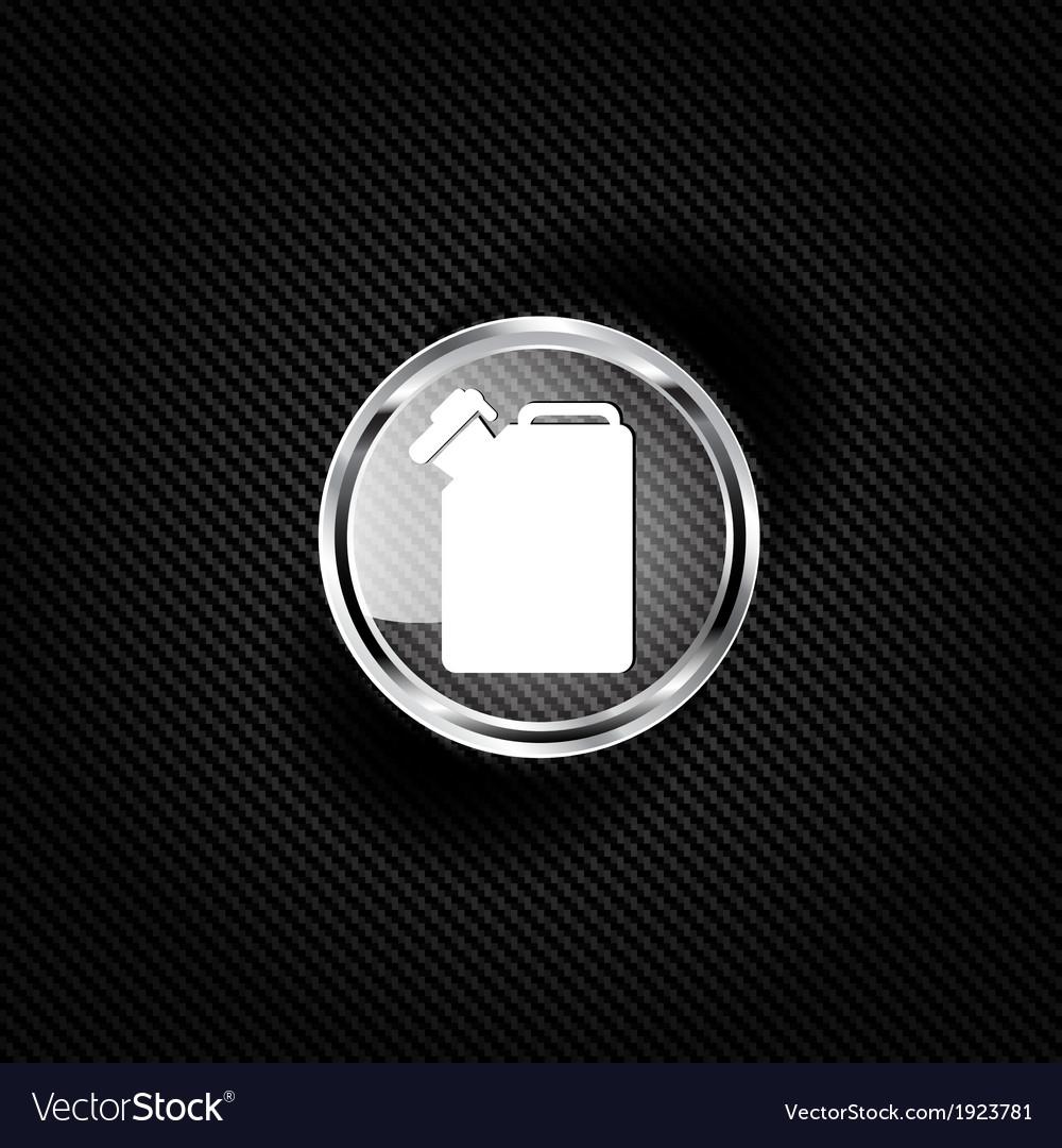 Fuel jerrycan icon vector image