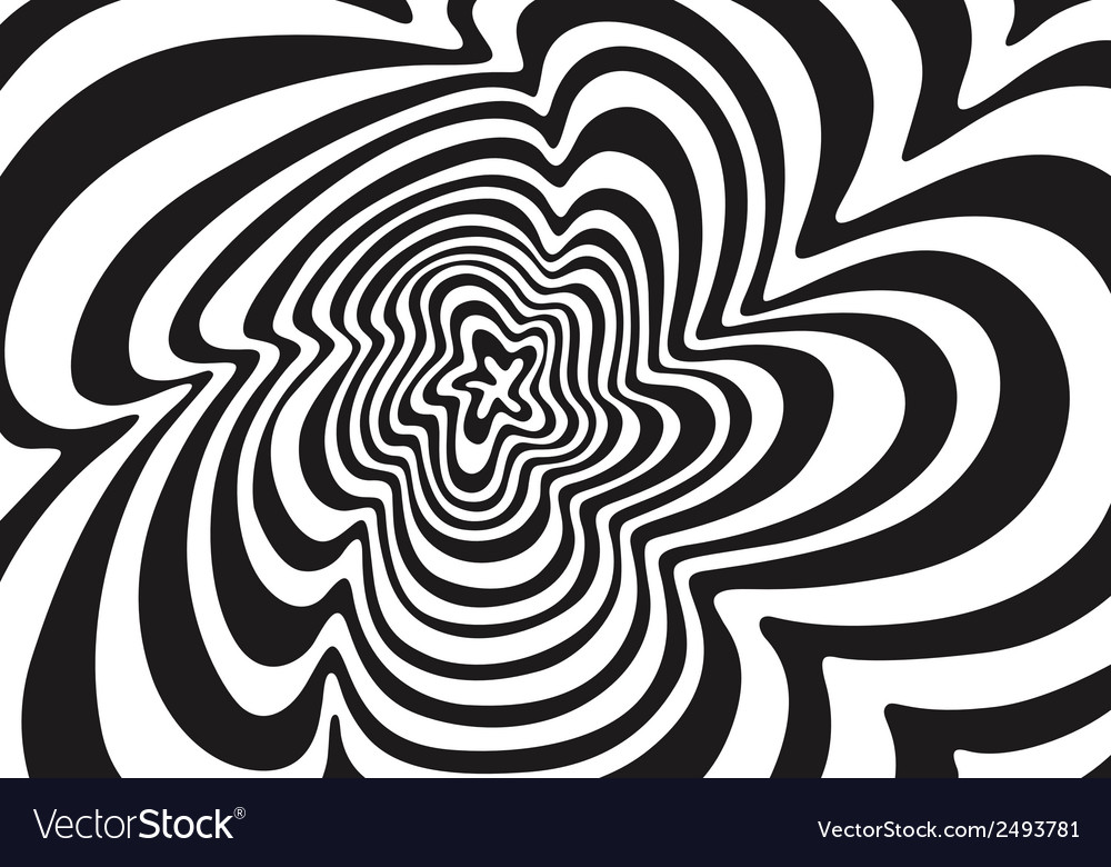 Wave abstract background vector image