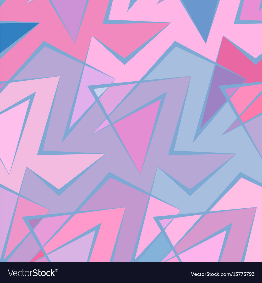 Abstract colorful background of broken vector image