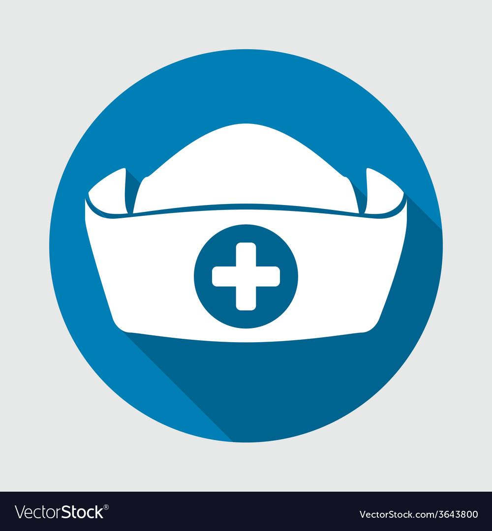 nurse hat royalty free vector image vectorstock