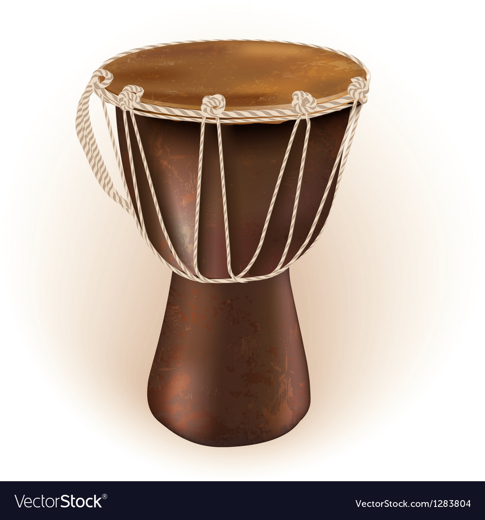Darbuka drum vector image