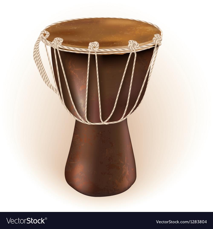 Darbuka drum vector image