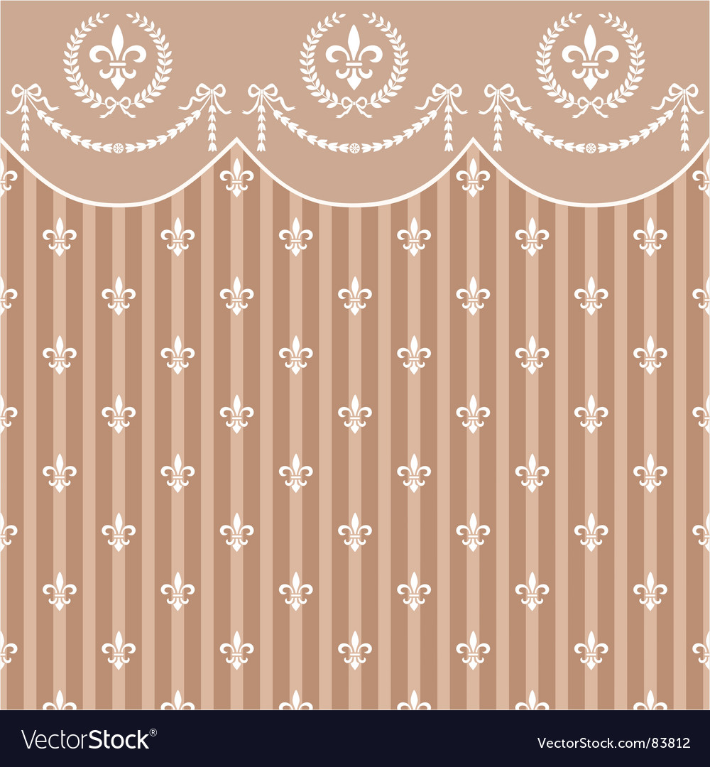 Empire background vector image