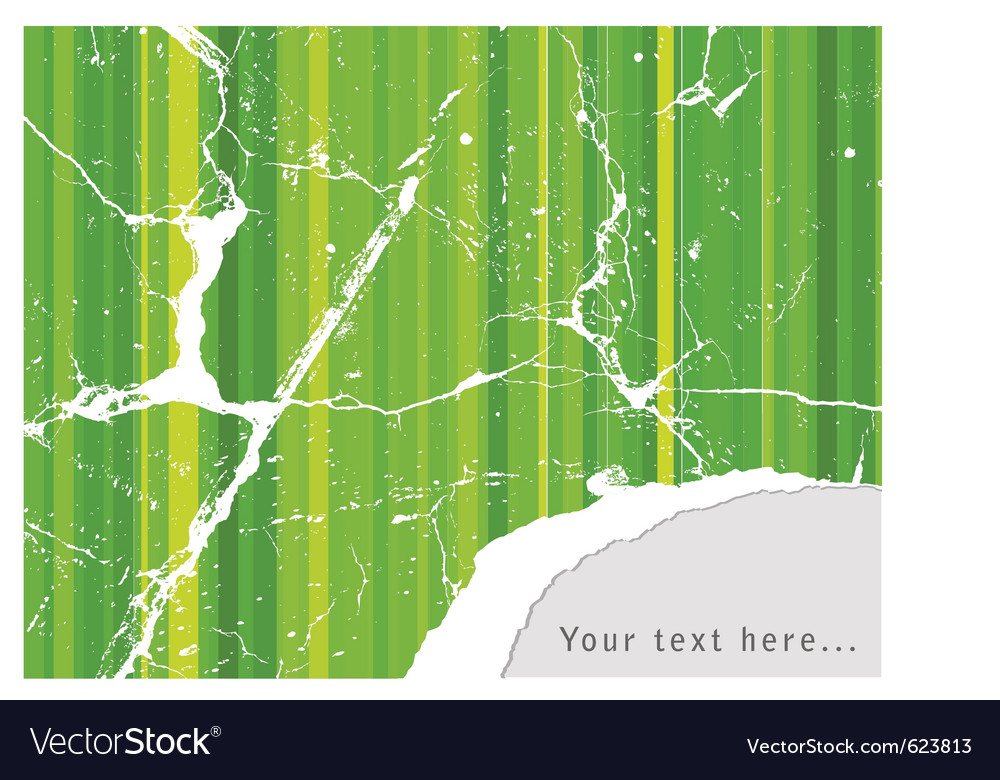 Old tear paper vector image