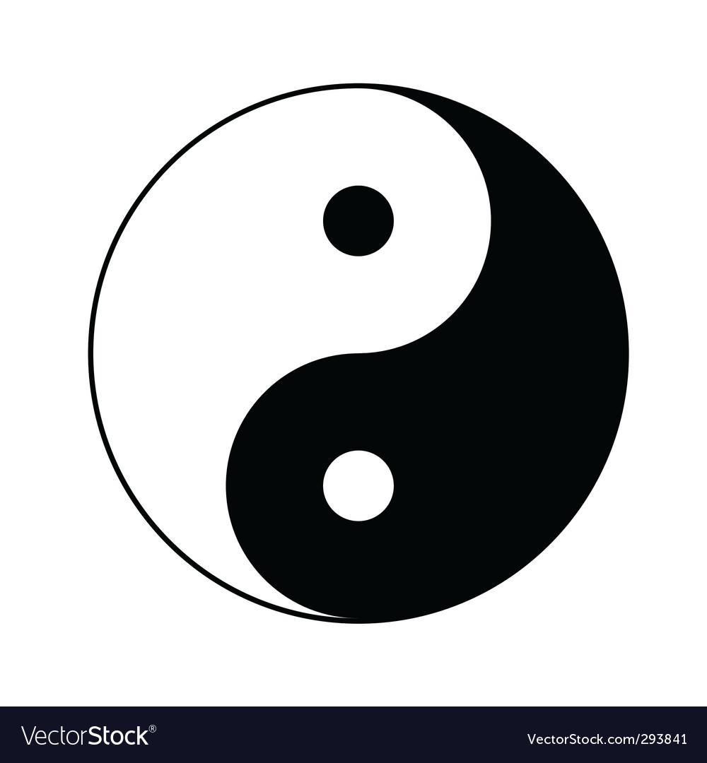 Yin yang symbol royalty free vector image vectorstock yin yang symbol vector image buycottarizona Choice Image