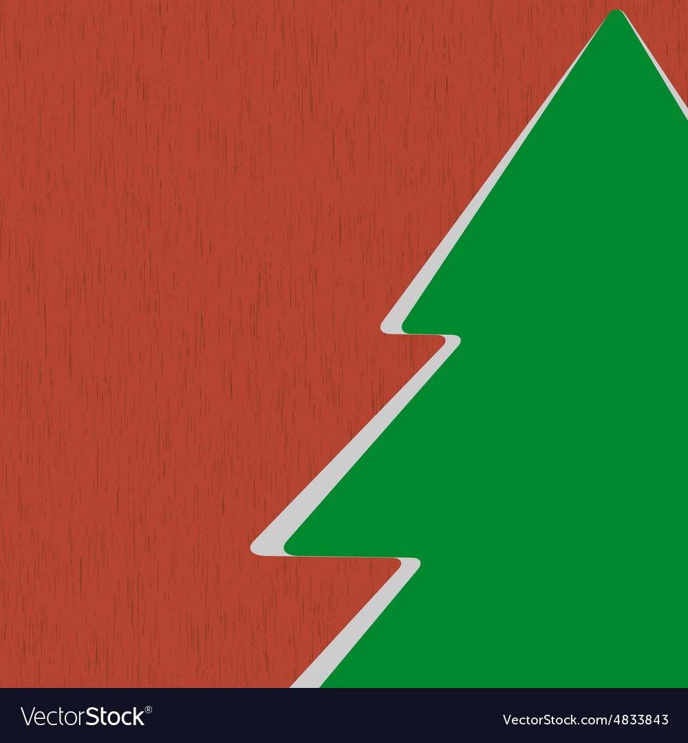 Icon Christmas Tree vector image