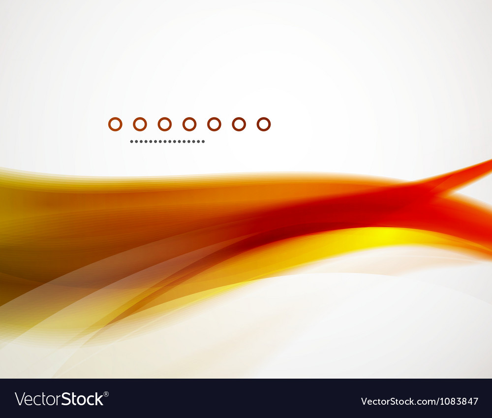 Wave template vector image