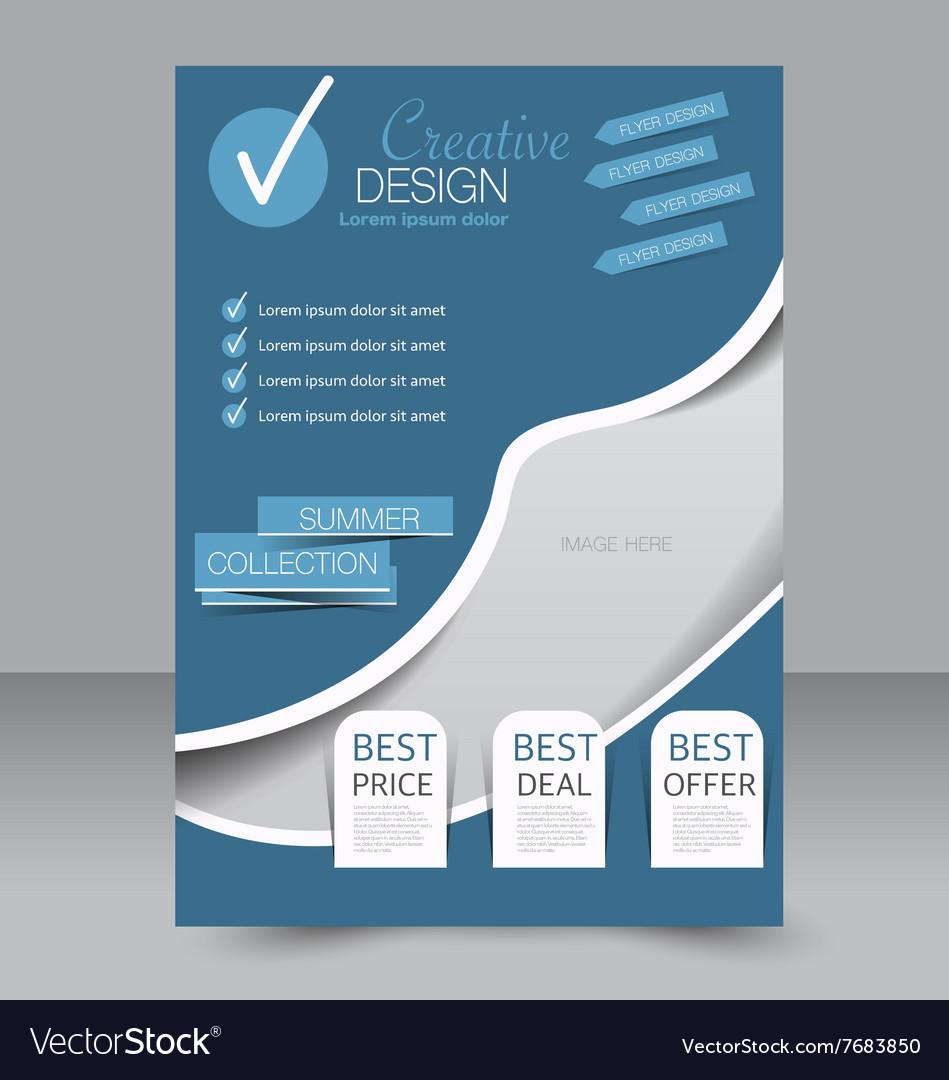 best way to design a flyer