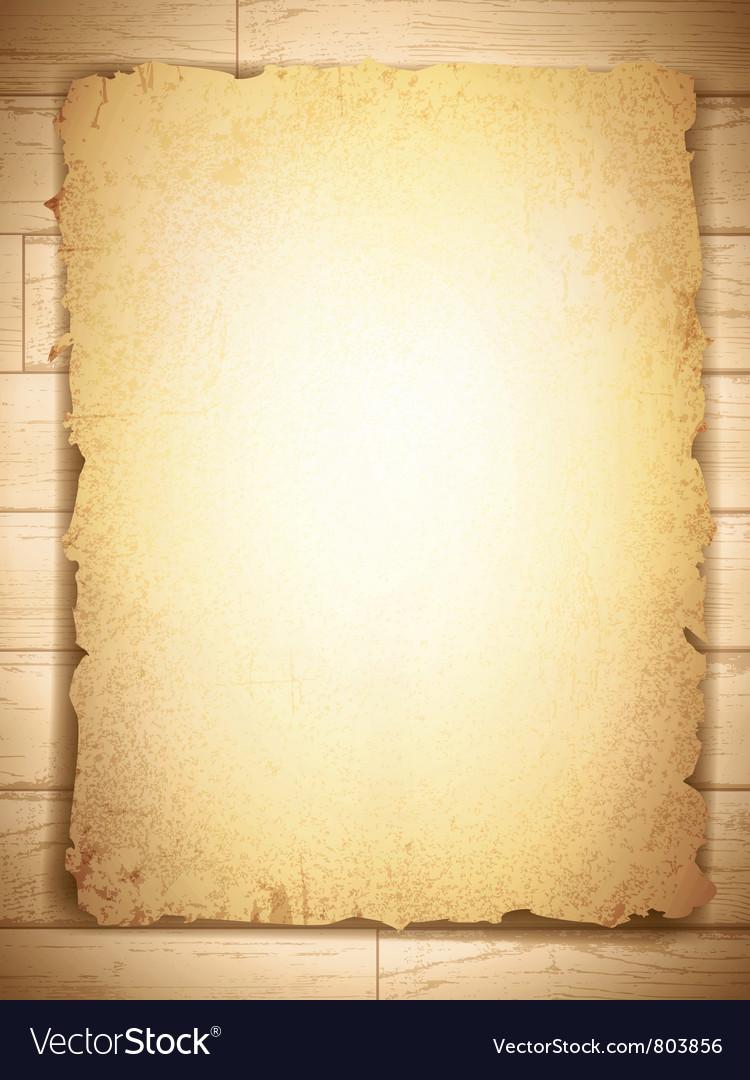 Grunge burnt paper vector image