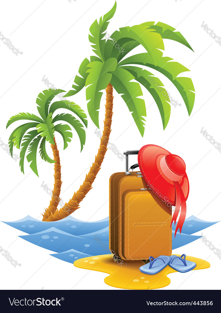 Travel poster vector image