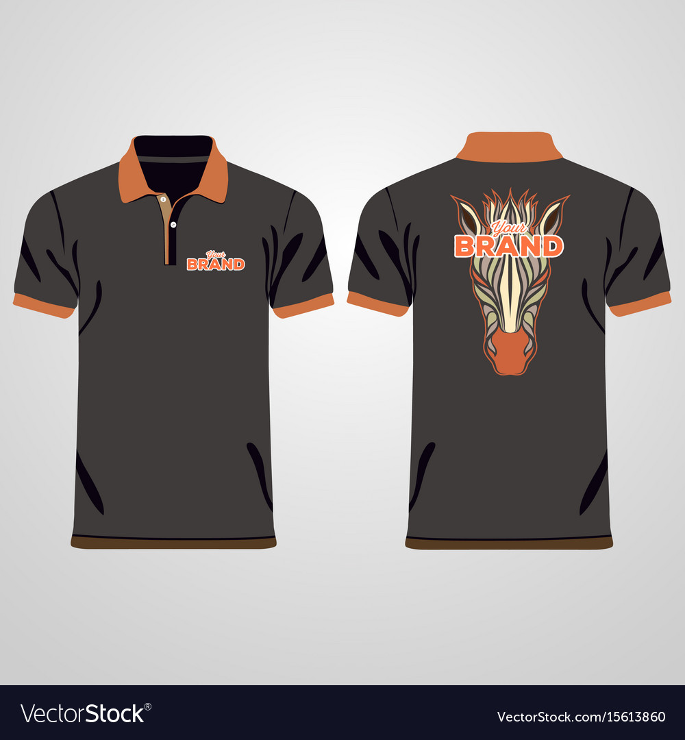 T shirt design template vector images for Polo t shirt design images