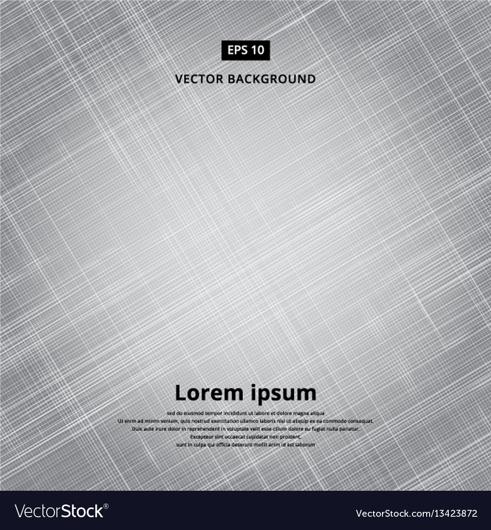Texture background of gray fabric vector image