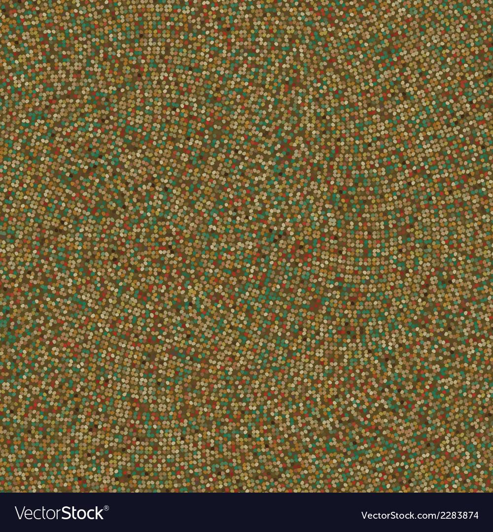 Vintage polka rosette texture EPS 8 vector image
