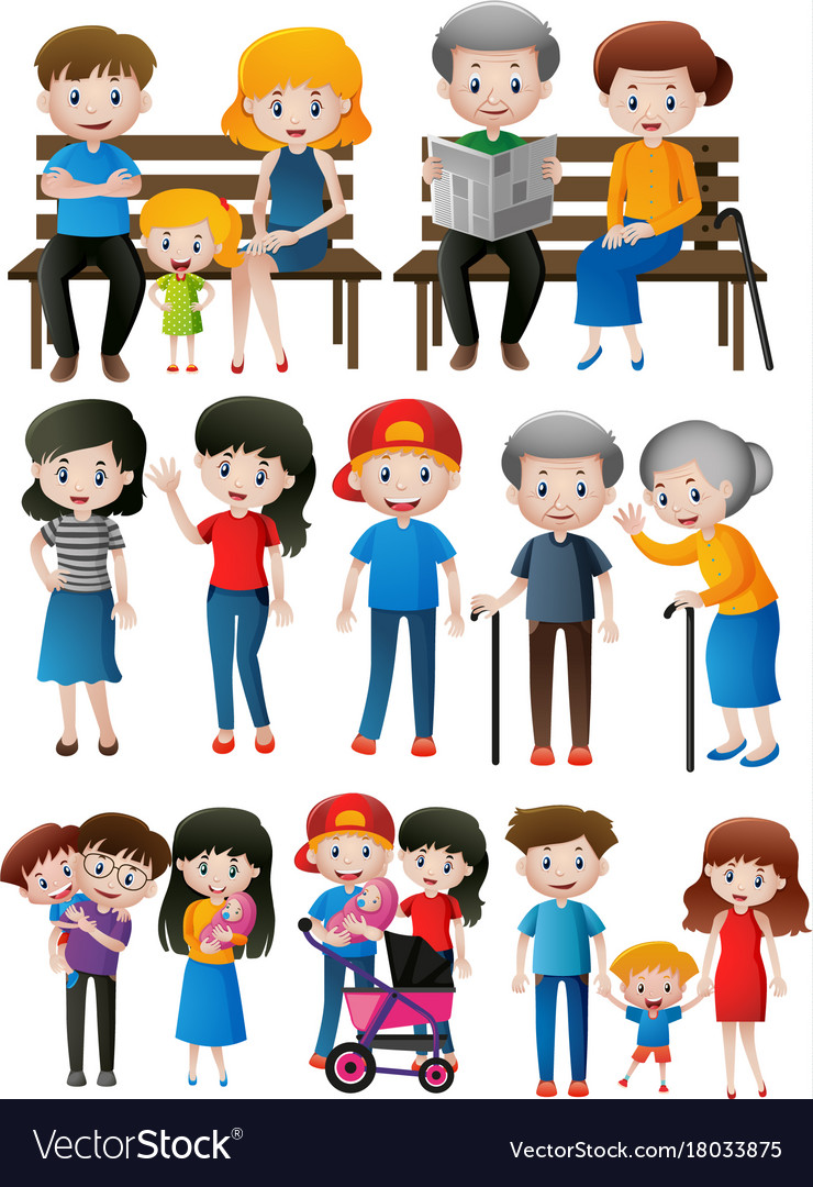 different family members Family and relatives in spanish the following english-spanish and spanish-english word lists contain the names of family members and relatives.